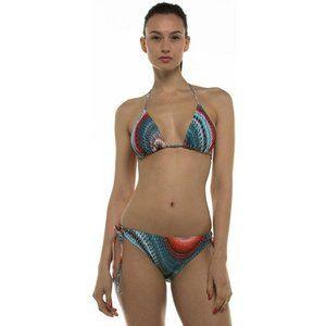 Hawaiian UV Rash Guard Triangle Swimsuit